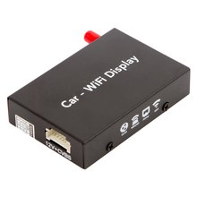 Smartphone iPhone Wi Fi Mirroring Car Adapter with RCA and HDMI Outputs - Short description