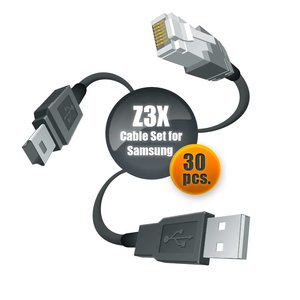 Z3X Cable Set for Samsung (30 pcs.)