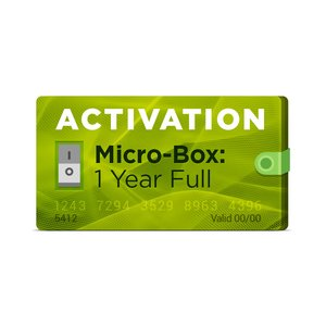 Micro-Box: 1 Year Full Activation