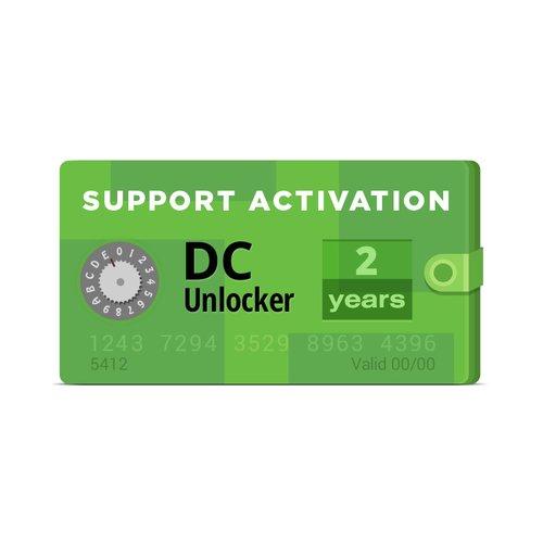 Activación de DC-Unlocker (2 años)