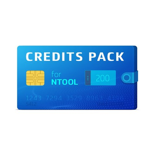 Pack de 200 créditos NTool