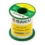 Припій BAKU BK-10005, Sn 97% , Ag 0,3%, Cu 0,7%, флюс 2%, 0,5 мм, 100 г