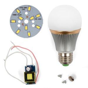 Комплект для сборки светодиодной лампы SQ-Q22 5730 5 Вт (холодный белый, E27)