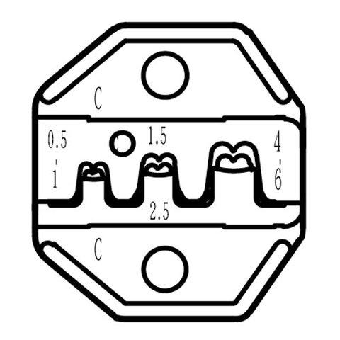 Матрица для кримпера Pro'sKit CP-236DC