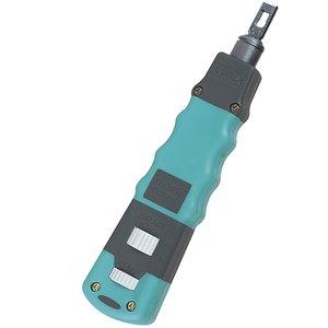 Інструмент для розшивання кабелю Pro'sKit CP-3148 з голівками під плінти 110/88 та 66