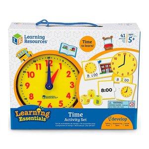Обучающий игровой набор Learning Resources Изучаем время