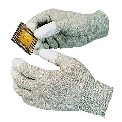 Goot WG 4S Anti Static Gloves with polyurethane resin coating on the palm and fingertip