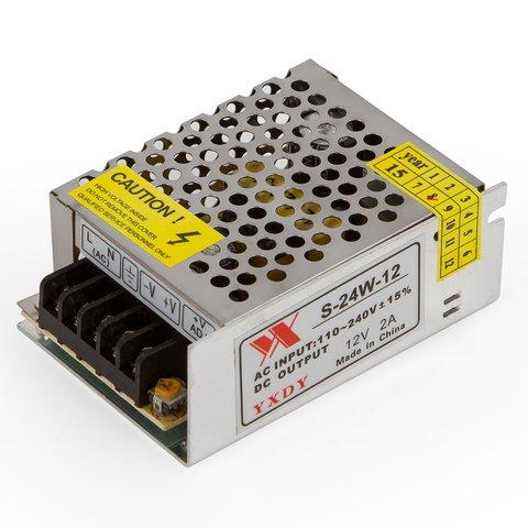 Fuente de alimentación para tiras de luces LED 12 V / 2 A (24 W)