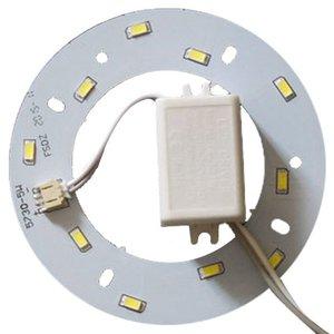 Juego de piezas para armar lámpara LED de 5 W (luz blanca natural, redondo, 4000-4500 K)
